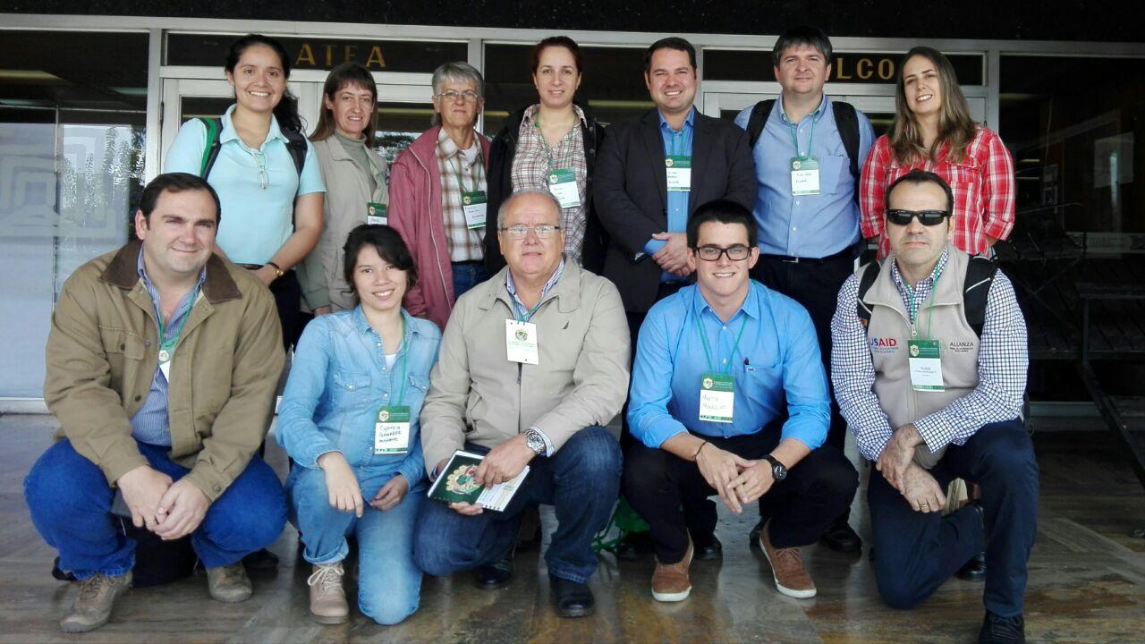 Delegación paraguaya que participó del IX Congreso Internacional de Sistemas Silvopastoriles, realizado en Colombia.