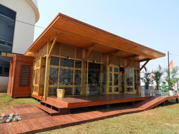 Argentina f brica de casas de madera generar for Fabricantes de casas de madera